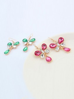 Occidente Elegante Nuovo Stile Butterfly Earrings
