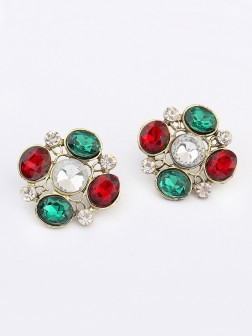 Occidente Nuovo Stile Elegante Popolare Stud Earrings
