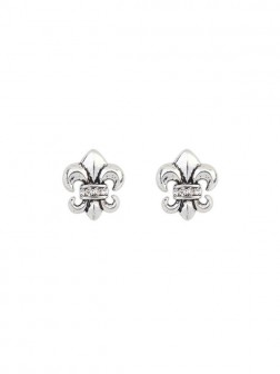 Occidente Hyperbolic Personalità Knight Stud Earrings