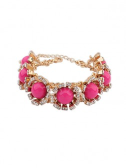 Occidente Nuovo Stile Street Shooting Collision Color Bracelets