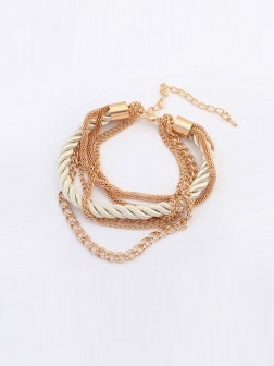 Occidente All-match Woven Multi-layeRosso Bracelets