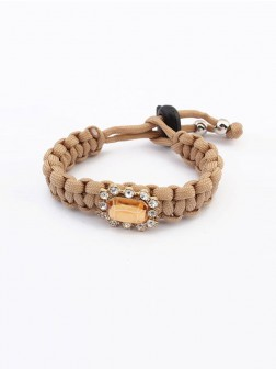 Occidente All-match Woven Concise Bracelets